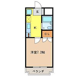 エクセレンスGII[3階]の間取り