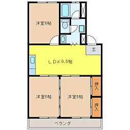 加藤第1マンション[1階]の間取り