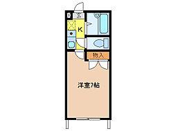 DEUXIEMECONFORT[1階]の間取り
