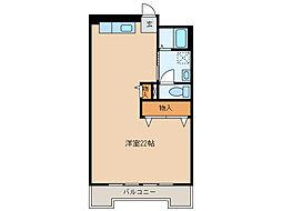 ADアパート[2階]の間取り