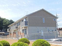 茨城県猿島郡境町大字長井戸の賃貸アパートの外観