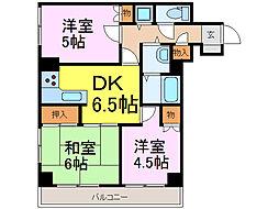 SSKグリーンパーク古河III203号室[2階]の間取り