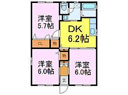 [一戸建] 茨城県古河市下辺見 の賃貸【/】の間取り
