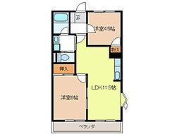 リンピア21[2階]の間取り