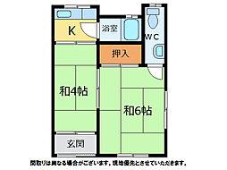 [テラスハウス] 徳島県小松島市立江町字宮前 の賃貸【/】の間取り