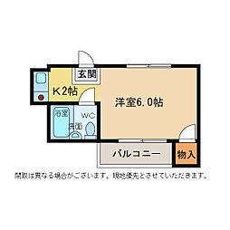 エスタシオン二軒屋[1階]の間取り
