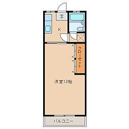 マナーハウス裕美[2階]の間取り