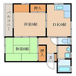 パークハウス新栄I[102号室]の間取り