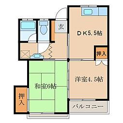 パークハウス新栄II[1階]の間取り