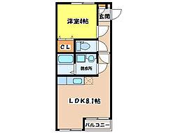 Excife[1階]の間取り