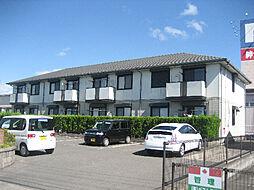 鹿児島県霧島市国分野口東の賃貸アパートの外観
