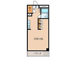 品川第2ビル[1階]の間取り