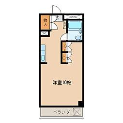 品川第2ビル[4階]の間取り