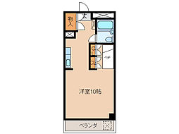品川第2ビル[6階]の間取り