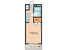 NOA・松野[3階]の間取り