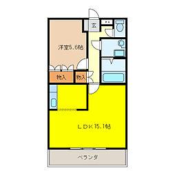 プロニティハイム[2階]の間取り