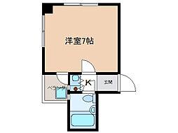サンライフ千代田[2階]の間取り