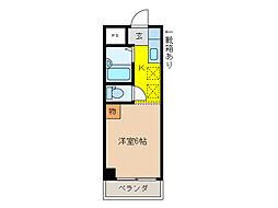 コーポ大桜II[2階]の間取り