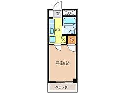 U・TOPIA 21[306号室]の間取り