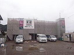長良S様2期新築アパート[2階]の外観