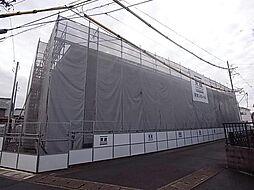 萱場K様新築アパートA棟[2階]の外観