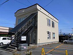 北海道函館市宮前町の賃貸アパートの外観