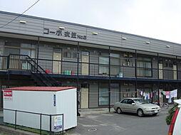 北海道函館市花園町の賃貸アパートの外観