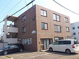 北海道函館市湯川町3丁目の賃貸マンションの外観