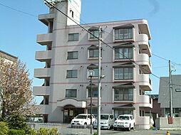 北海道函館市湯川町2丁目の賃貸マンションの外観