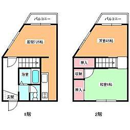 北海道函館市的場町の賃貸マンションの間取り