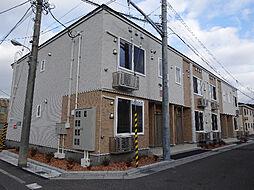 北海道函館市深堀町の賃貸アパートの外観