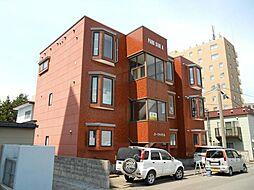 北海道函館市五稜郭町の賃貸マンションの外観