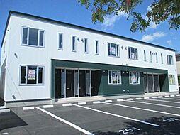 北海道函館市本通2丁目の賃貸アパートの外観