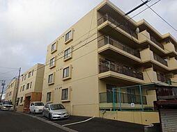 北海道函館市深堀町の賃貸マンションの外観