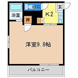 シャトル昭和町[2階]の間取り