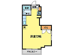 A・VIEW[5階]の間取り