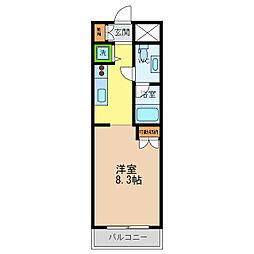 A・VIEW[4階]の間取り