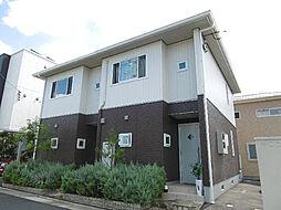 [テラスハウス] 徳島県徳島市かちどき橋3丁目 の賃貸【/】の外観