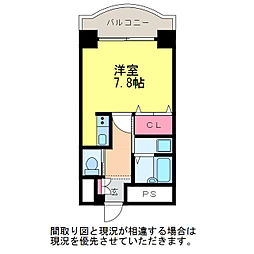 ベルトピア新潟21[6階]の間取り