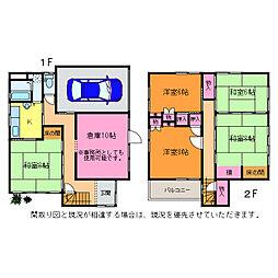[一戸建] 新潟県新潟市中央区祝町 の賃貸【/】の間取り