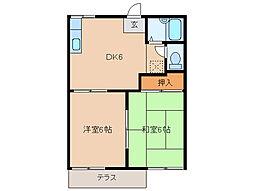 京BFREE[1階]の間取り