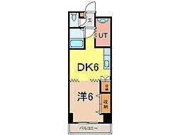 ビッグバーンズマンション[1階]の間取り
