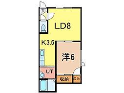 タピオラ[2階]の間取り