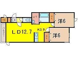 Ks[2階]の間取り