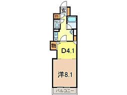 朝日プラザ旭川5条通[6階]の間取り
