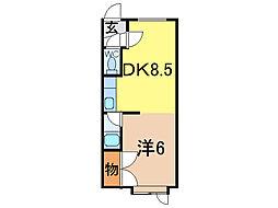 フレンズ5.24[1階]の間取り