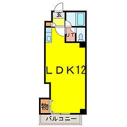 ナッツSPIRIT3[2階]の間取り