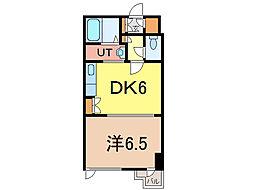 グリーンヒル3条[4階]の間取り
