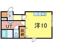 シェルト716[2階]の間取り