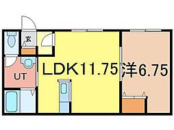 3−1ハイツ[2階]の間取り